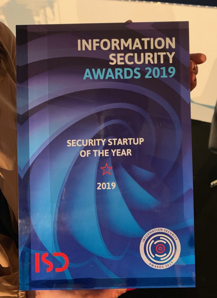 Hacknowledge won ISDay 2019 security startup of the year