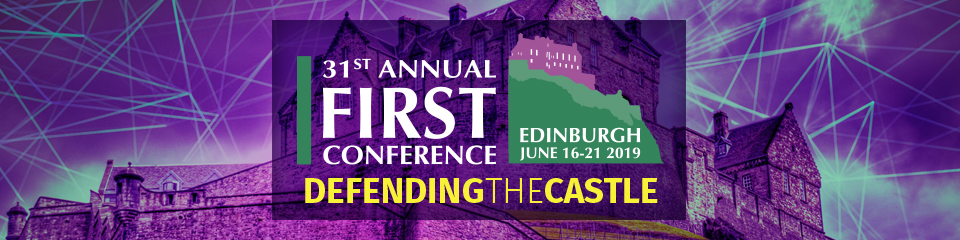 FIRST annual conference 2019