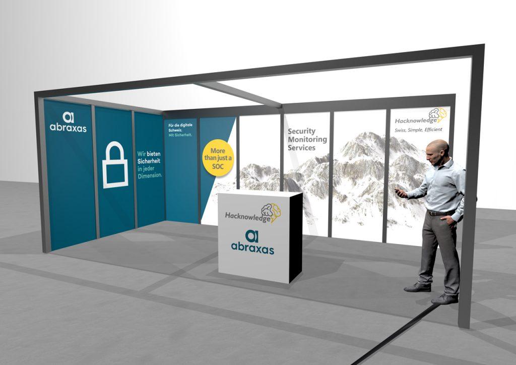 Hacknowledge platimum sponsor of the Swiss Cyber Security day 2020
