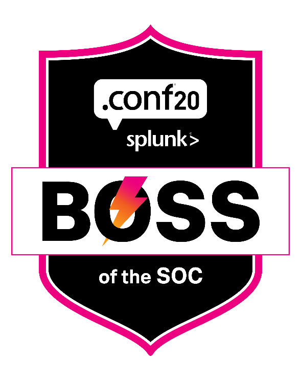 Boss of the SOC V at .conf20